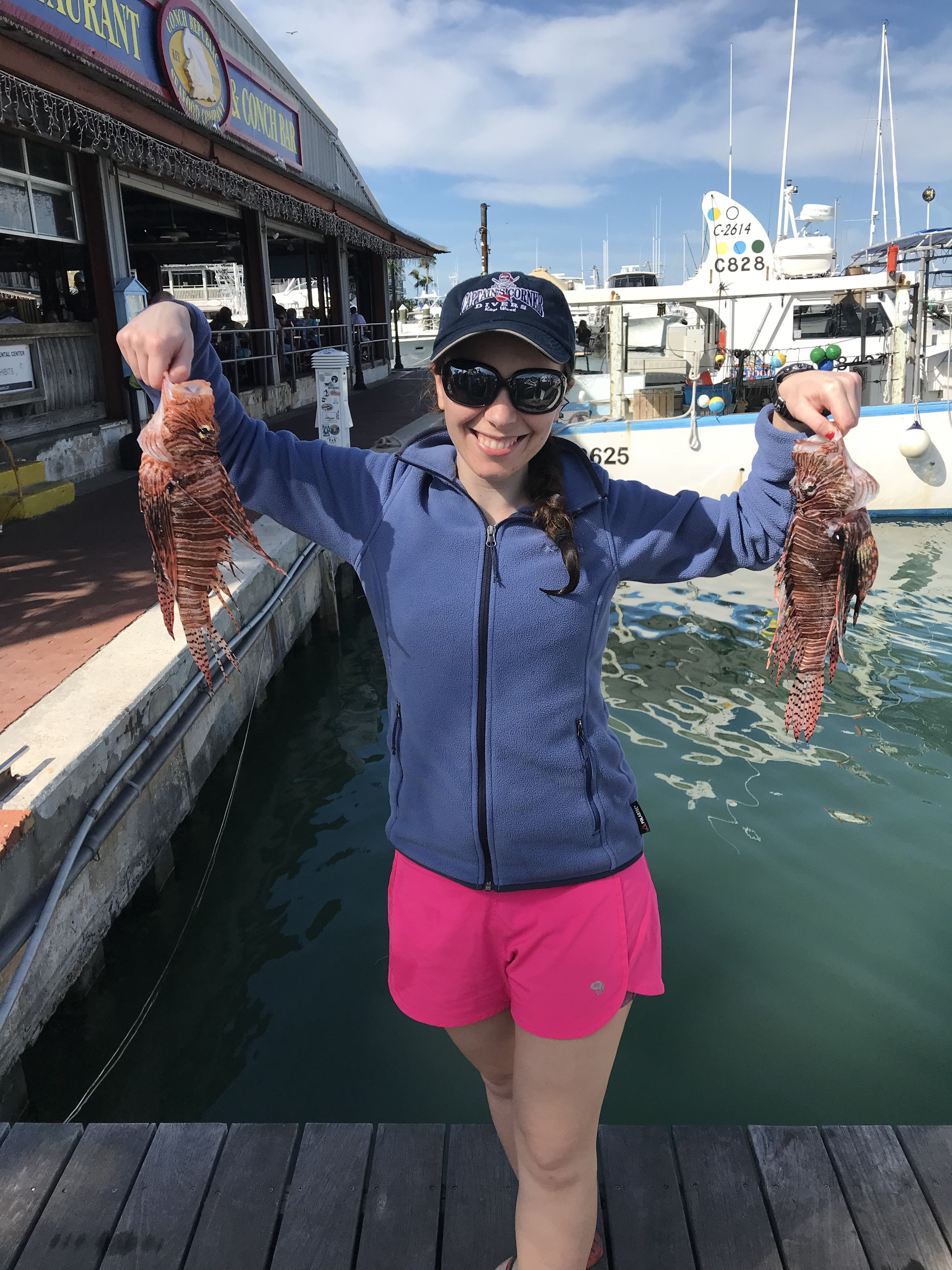No Love For Lionfish In Key West, Florida