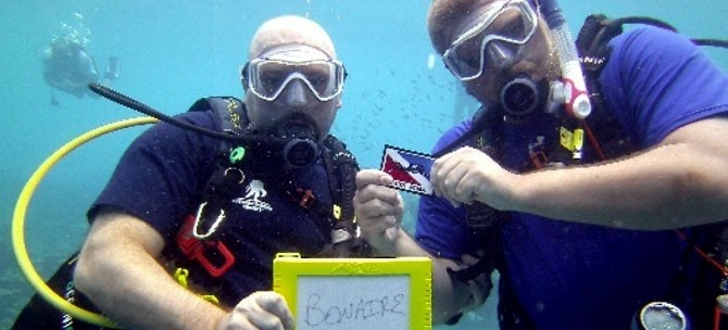 Training Divers With Disabilities